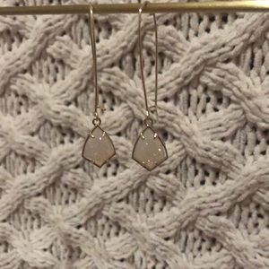 Kendra Scott PROTOTYPE Carrine Earrings- DRUSY